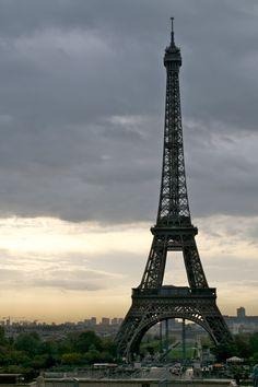 the Eiffel tower from the Trocadéro square | photo: Lisa Hjalt