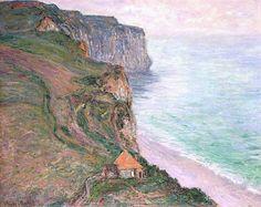 1885 Claude Monet La Valle d'Antifer(collezione privata)
