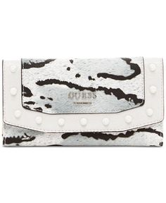 GUESS Basel Slim Clutch - Handbags & Accessories - Macy's