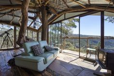 Treehouse in Bilpin, Australia. Fancy staying amongst 600 acres of private wilderness in the Blue Mountains in a treehouse? This secluded accommodation offers just that for a back-to-nature experience in style, nestled between 2x National Parks & World Heritage listed rain-fores...