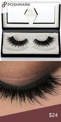 House of Lashes Faux Mink Opulent Noir lashes NIB House Of Lashes Faux Mink in Opulent Noir , brand new !! These guys are super soft and layered to give the eye a full, fluttery look. If you haven't heard of House of Lashes or tried them, they're a smaller boutique lash brand, not only are there lashes beautiful, they are also super comfortable. These come with a thinner band, which makes them more comfortable to wear. I only have one pair of this so get it now or cry later! House Of Lashes…