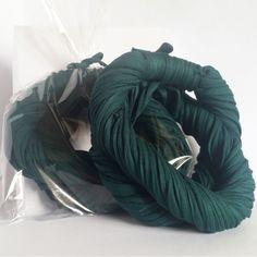 Verde Pinheiro - Colar de Malha   Cachecol de Malha Lindo Acessório da Moda que VOCÊ confere na ColaresDaMah.com