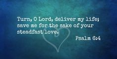 Psalm 6 Is A Plea For Help