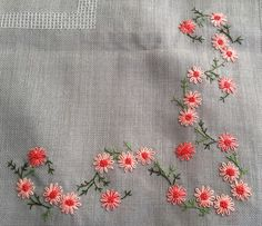 Marvelous Crewel Embroidery Long Short Soft Shading In Colors Ideas. Enchanting Crewel Embroidery Long Short Soft Shading In Colors Ideas. Hand Embroidery Flowers, Embroidery Works, Flower Embroidery Designs, Simple Embroidery, Hand Embroidery Stitches, Crewel Embroidery, Embroidery Techniques, Ribbon Embroidery, Cross Stitch Embroidery