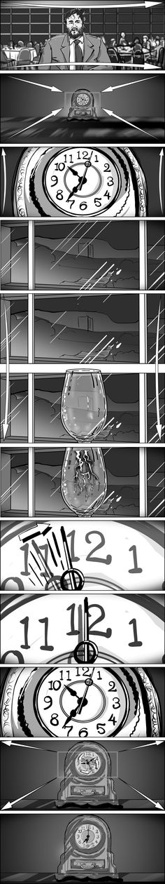 Storyboard sequence Storyboards by storyboard artist Cuong Huynh - script storyboard