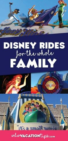 A list of all the rides at Walt Disney World that your WHOLE family can enjoy! You will be surprised just how many rides have NO height restriction.