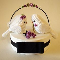 Topo de bolo #1 by Maria Handmade, via Flickr