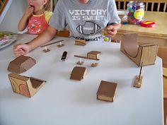 cardboard fingerboard park