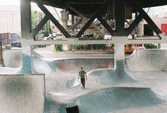 Burnside Skatepark - Portland OR_Underpass Art & Parks: 15 Fun Projects Reclaiming Disused Urban Space Halle, Skate Ramp, Skate 3, Surf, Design Museum, Best Cities, Skateboarding, Portland, Industrial Design