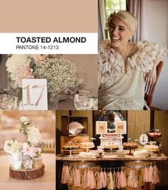 Los hombres también ayudan a escoger el tipo de matrimonio y colores ¿Chicos que opinan sobre este color toasted almond ? ¿Señoritas, les gusta esta tendencia en matrimonios?