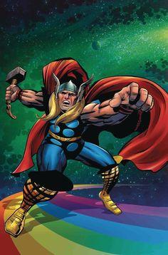 Generations Unworthy Thor & Mighty Thor #1 Kirby 100 Var
