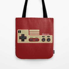 Classic retro Red Gold game controller Tote Bag @pointsalestore @society6threesecond #totebag #totebag #Photography #videogames #Digitalmanipulation #Macro #Vintage #Nintendo #Sega #Dreamcast #Classic #Retro #8bit #mario #brothers #digital #cool