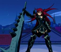Anime/manga: Fairy Tail Character: Erza, Erza in her purgatory armor.