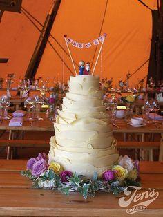 Siobhan & Gareth's chocolate wedding cake | Flickr - Photo Sharing!