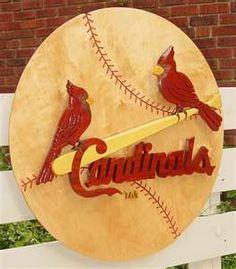 Pinned onto Sports Board in Sports Category Baseball Crafts, Baseball Gear, Baseball 2016, Cardinals Baseball, St Louis Cardinals, Cardinals News, St Louis Baseball, Johnson And Johnson, Painted Signs