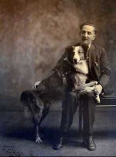 1923, Bobbie the wonder dog, the dog who got lost, traveled 2551 miles across the US to return home