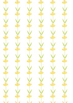 Free digital floral scrapbooking paper : yellow flowers - ausdruckbares Geschenkpapier - freebie | MeinLilaPark – DIY printables and downloads