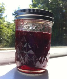 Spiced cherry jam