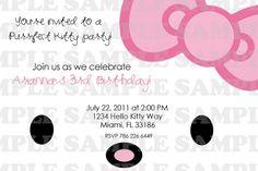 Hello Kitty Birthday Invitation Printable