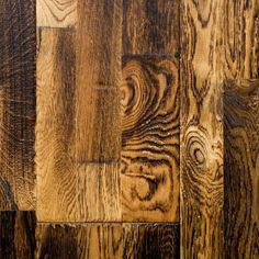 """Deveraux from our Reclamation Plank Collection by Heritage Woodcraft is a hand-scraped (7-7/8"""") wide-plank solid oak hardwood flooring.Each plank unfolds its own story in exquisite sculpting design. It can be nailed down over wooden sub-floors."""