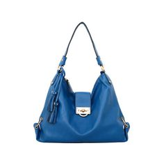 Women's Mellow World Marcie Hobo Large ($32) ❤ liked on Polyvore featuring bags, handbags, shoulder bags, blue, hobo handbags, faux leather handbags, faux leather purses, hobo purses, vegan handbags and blue shoulder bag