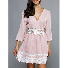 Do you think I should buy it? Cute Casual Dresses, Business Casual Dresses, Sexy Dresses, Fashion Dresses, Latest Dress For Women, Plunging Neckline Dress, Applique Dress, Fashion Sale, Sammy Dress