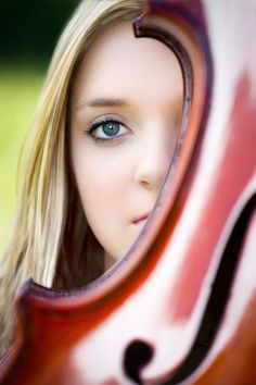senior picture ideas for girls with violin | Found on viewbug.com