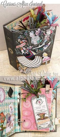 Alpha Stamps News » While the Cat's Away Day 5: Alice in Wonderland