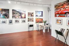 How to Set Up a Pop-Up Art Gallery in 7 Steps Space Gallery, Gallery Wall, Interior Design Gallery, Pop Up Art, Pop Up Shops, Heating And Air Conditioning, Store Fronts, Home Art, House Design