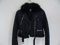 Veste suédine bleu foncé pimkie - vinted.fr Bomber Jacket, Jackets, Style, Fashion, Vest Coat, Deep Blue, Womens Fashion, Fashion Ideas, Down Jackets