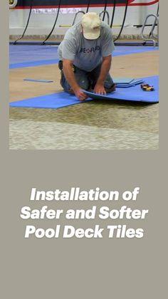 Outdoor Swimming Pool, Swimming Pools, Pool Mat, Non Slip Flooring, Peel And Stick Tile, Tile Floor, Tiles, Deck, Backyard