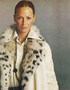 Karen Graham photographed by Richard Avedon for Vogue, October 1972