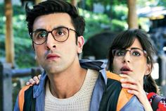 Check Out : Ranbir Kapoor & Katrina Kaif's Nerdy Look In Jagga Jasoos - Cine Newz