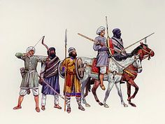 Almoravid warriors. Almoravids and Almohads were Berber reformers, they made incursions into sub-saharan African kingdoms. The conquerors sought to get along with their new citizens. The Islamic doctrine of equality made Berbers, Arabs, and Africans equal.