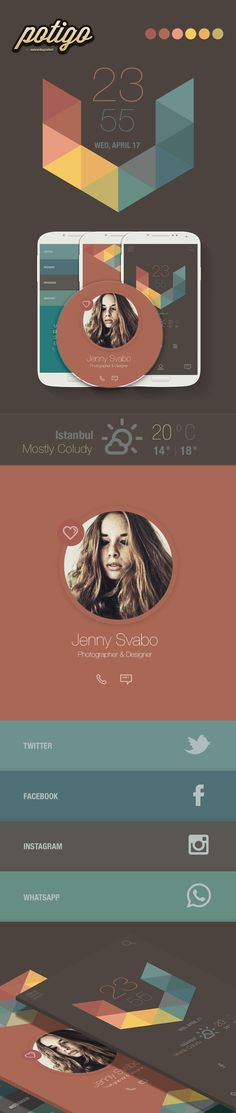 simple clean app layout Retro Colours, Colors, Android Theme, Color Swatches, Color Inspiration, Layout, App, Nice, Simple