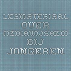 Lesmateriaal over mediawijsheid bij jongeren Periodic Table, Internet, Learning, School, Periotic Table, Teaching, Studying