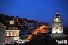 Cúpulas Iglesia de la Merced Quito - Ecuador