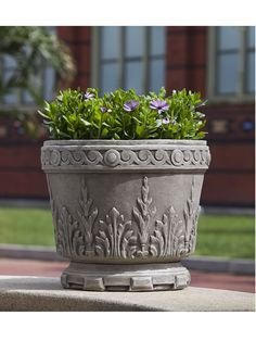 Smithsonian Acanthus Urn - Garden Fountains & Outdoor Decor it's too big, but marvelous anyway