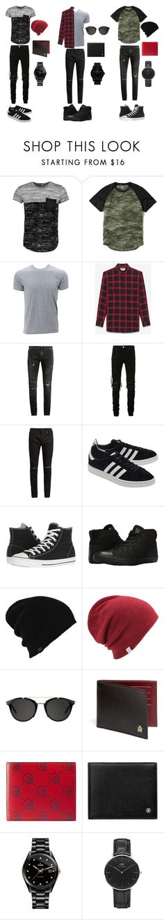 """""""Life is short alive passionately"""" by withered-ros on Polyvore featuring Boohoo, Hollister Co., Simplex Apparel, Yves Saint Laurent, Balmain, AMIRI, adidas Originals, Converse, Burton y Coal"""