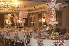 Masquerade theme for Sweet 16