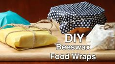Here is what you'll need! DIY BEESWAX FOOD WRAPS Supplies Cotton sheet (desired size) Beeswax Jojoba oil Parchment paper Towel or ironing board Iron Instruct...