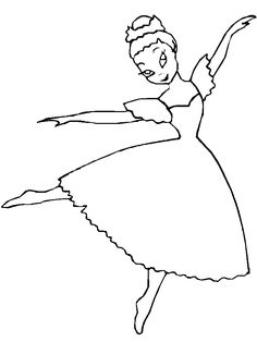 free ballerina coloring pages 718957 coloring picture animal