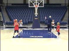 Kids Basketball Drills - Teaching Shooting Technique