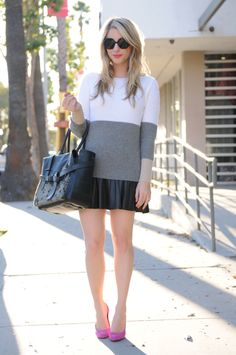 I swear she pulls every style off ridiculously well. But I adore this jcrew sweater.
