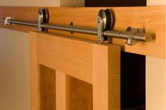 Corredera puerta de granero de hardware& kits de la puerta de madera accesorios