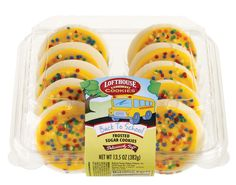 Lofthouse Back To School Frosted Sugar Cookies
