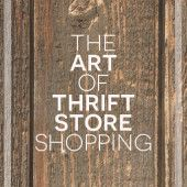 The art of #thrifting (thrift store shopping)
