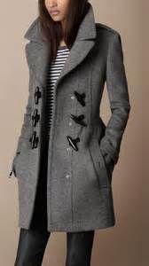Burberry - Toggle Detail Wool Coat I want a toggle coat so badly! Fashion Mode, Look Fashion, Womens Fashion, Fall Fashion, Street Fashion, Lifestyle Fashion, Fashion Trends, Fashion Ideas, Duster Mantel