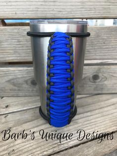 Bungee Handle for Tumblers, Tumbler Handle, Paracord Handle, Fits Yeti, Ozark, RTIC and other 20oz/30oz/40oz Tumblers by BarbsUniqueDesignUS on Etsy