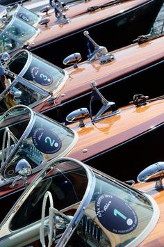 Riva Heaven - Boats. http://www.annabelchaffer.com/categories/Country-Pursuits/